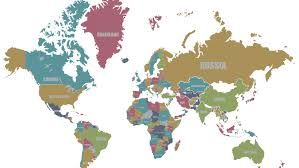 London On World Map by Careers We Are Social Uk