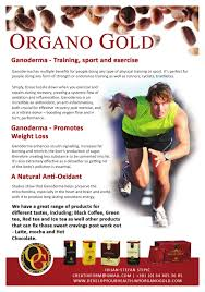 Organo Gold Business Cards Organo Gold Leaflet