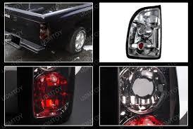 2001 dodge dakota tail light covers 04 dodge dakota altezza style smoke euro tail lights