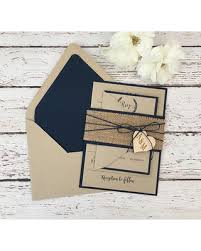 burlap wedding invitations amazing deal rustic wedding invitation burlap wedding invitation