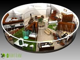 Home Design 3d Library Well Suited Floor Plan 3d Library 10 Rotunda Apartment Design