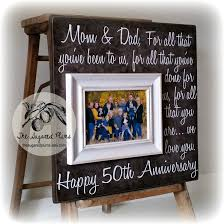 50th wedding anniversary gift ideas for parents parents anniversary gift 50th anniversary gifts for all that