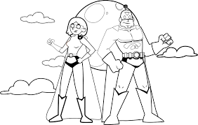 fantastic heroes coloring pages wecoloringpage