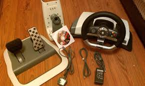 xbox 360 steering wheel for sale official microsoft xbox 360 feedback wireless