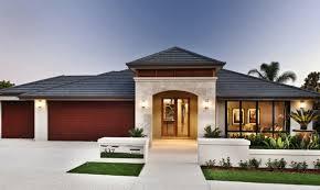 house frontages single story stone pillars australia google