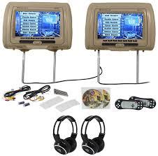 lexus of rockville phone number rockville rvd951 bg 9 beige dual dvd hdmi car headrest monitors 2