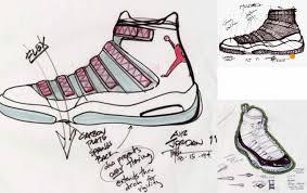 original air jordan xi sketches phase2blogs