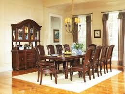 mahogany dining room set