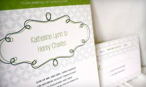 wedding invitations groupon 51 custom invitation package from uniquity uniquity