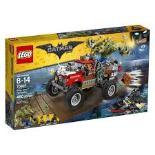 batman monster truck videos the lego batman movie killer croc tm tail gator 70907 toys