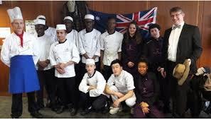 apprentissage en cuisine restauration menu brasserie franco australien avec les cap 1ère ée en