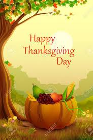 vector illustration of happy thanksgiving wallpaper background