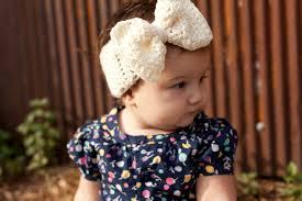 crochet headband for baby crochet big bow ear warmer for babies baby headband baby ear