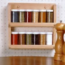 Spice Rack For Wall Mounting Mounting A Spice Rack On Your Wall Thriftyfun