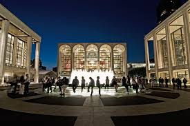 Lincoln Center New York Map by New York A Great International City New York International