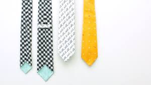 how to sew a necktie for all ages skinny tie and classic tie