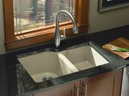 undermount kitchen sink with faucet holes standard plumbing supply product kohler k 5931 4u k4 executive