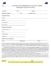 emergency contact form templates fillable u0026 printable samples