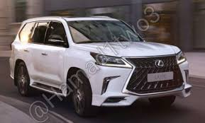 lexus lx concept 2018 lexus lx 570 superior leaked ahead of russia middle east debut