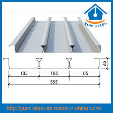 Yumi Floor L China Perforated Steel Floor Decking Sheet For High Rise Building