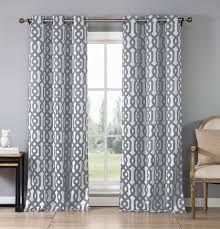 Blackout Drapes 2 Pack Ashmont Geometric Blackout Curtain Panel Tanga