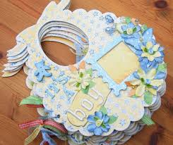 baby boy scrapbook album 407 best baby mini albums images on mini albums baby