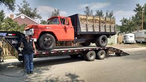 Old Ford Truck Engine Swap - curbside classic 1964 ford f600 dump truck u2013 still hard at work