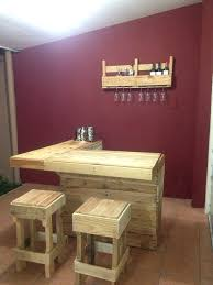 Bar Kitchen Table by Pallet Bar Kitchen And Bar Idea Using Just Pallets Diy Que Me