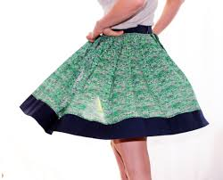 pattern for simple long skirt easy pleated skirt no pattern needed