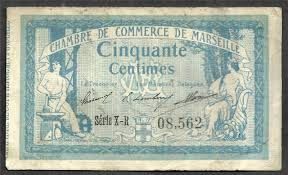chambre de commerce de marseille emergency notes chambre de commerce de marseille 50 centimes