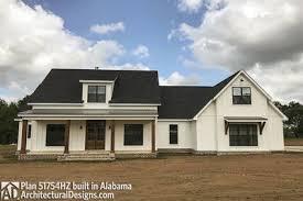 architectual designs modern farmhouse plan with bonus room 51754hz architectural