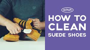 how to clean light suede shoes how to clean suede shoes schuh youtube