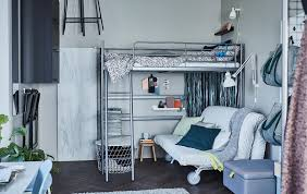 Ikea Small Space Living | getting ready for guests in small space living