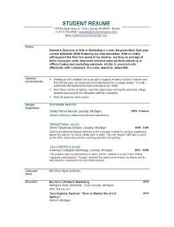great resume objective statements examples resume example and