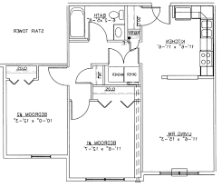 Two Bedroom Floor Plans House by Home Design Two Bedroom House Plan Plans Nice Basic Floor For 93