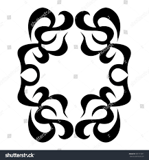 tribal tattoos design element art tribal stock vector 301711871