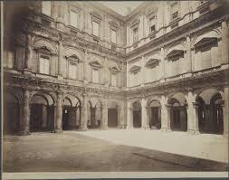 cortile palazzo farnese roma palazzo farnese cortile non identificato fotografie