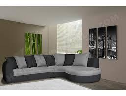 matière canapé canapé bi matière ub design harry angle droit pu anthracite et tissu