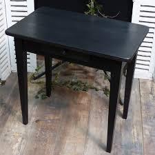 petit bureau noir petit bureau noir patiné lignedebrocante brocante en ligne chine