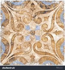 Morrocan Design Vintage Italian Tile Moroccan Pattern Stock Illustration 620048192