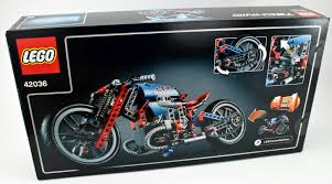 lego technic motocross bike review 42036 street motorcycle rebrickable build with lego