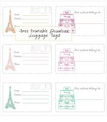themed luggage tags best 25 printable luggage tags ideas on kids luggage