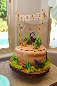 theme baby shower woodsy adventure themed baby shower ideas rise and renovate
