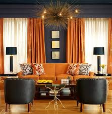 Orange Living Room Decor Our Secret Source For Affordable Urchin Pendants Interiors