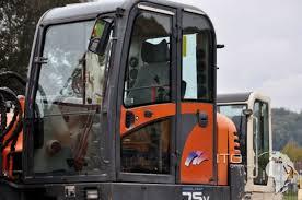 mini excavator daewoo doosan sl75v used