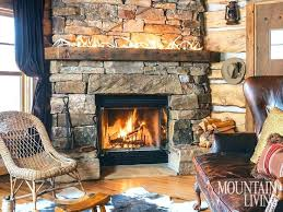 rustic stone fireplaces rock fireplaces rroom me