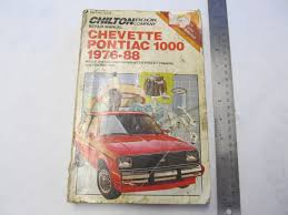 1976 1988 chevette pontiac 1000 chilton repair manual green bay