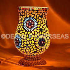 glass mosaic lamp sml mosaic table lamp manufacturer from firozabad