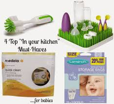 cristeenolley baby must have kitchen items
