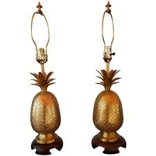 Pineapple Buffet Lamp by Frederick Cooper Brass Pineapple Lamps At 1stdibs